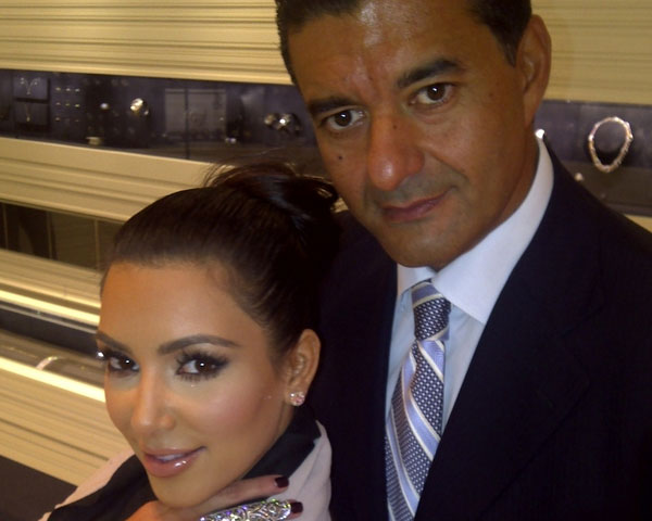 jacob the jeweler and kim kardashian 25 Impressive Kim Kardashian Hair Color Ideas
