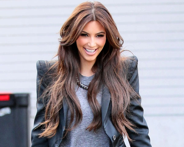 25 impressive kim kardashian hair color ideas slodive light brown cascade pmusecretfo Choice Image