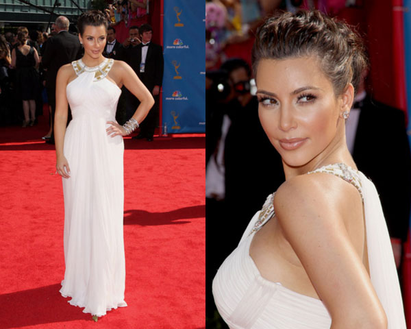 kim kardashian makeup 25 Impressive Kim Kardashian Hair Color Ideas