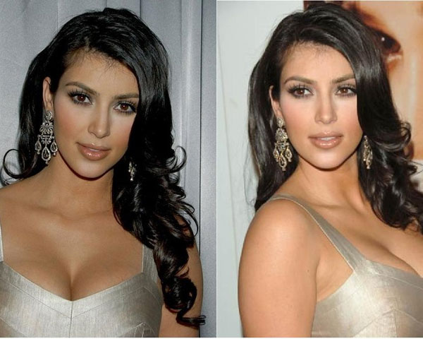 montage 25 Impressive Kim Kardashian Hair Color Ideas