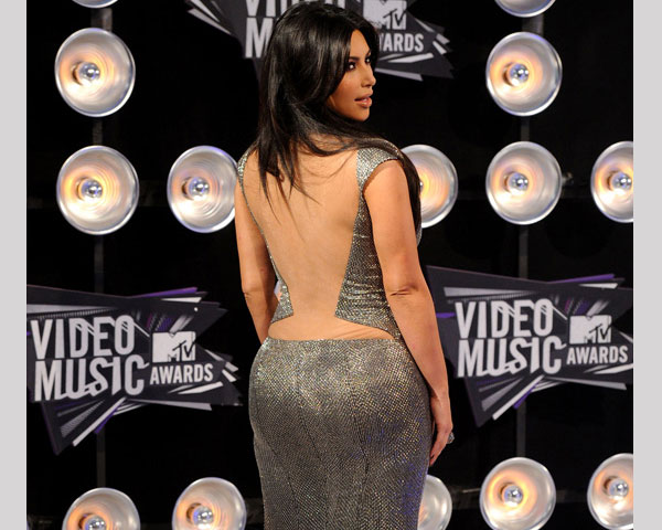mtv music awards 25 Impressive Kim Kardashian Hair Color Ideas