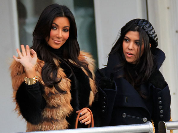 kim and kourtney kardashian 25 Glamorous Kourtney Kardashian Pictures