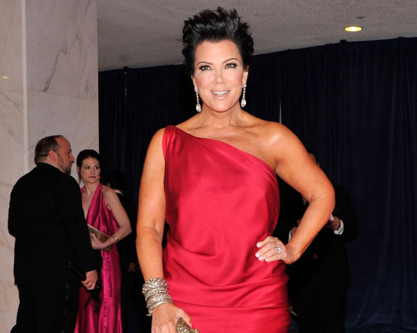 hot red 25 Super Sexy Kris Jenner Haircut Styles
