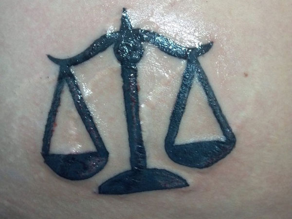 30 Overwhelming Libra Tattoos Slodive