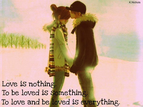 anime couple love quote 25 Love Quote Pictures Which Are Romantic