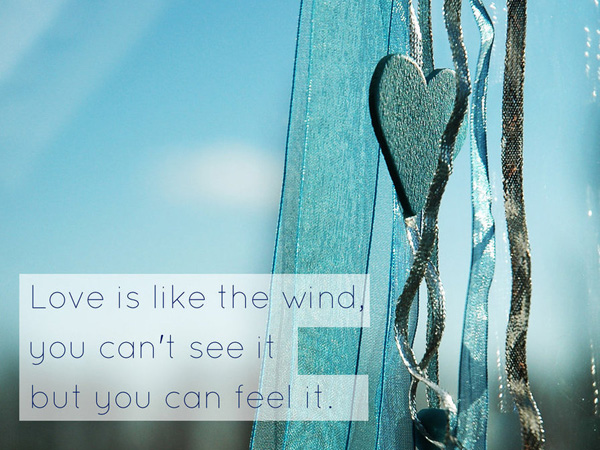 Flying Love Picture Quote