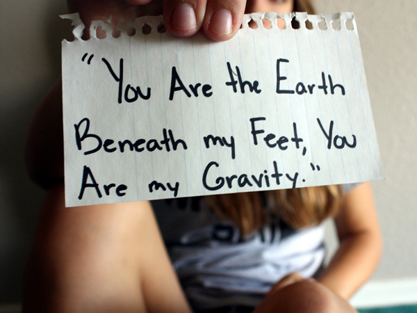 earth gravity 25 Love Quote Pictures Which Are Romantic