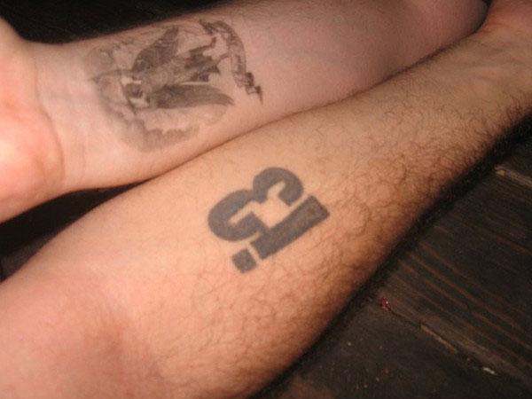 Pair Of Mexican Tattoos