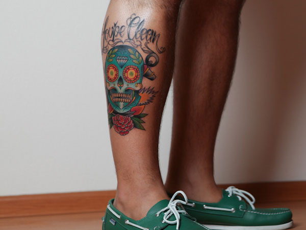loupe clean 25 Splendid Mexican Skull Tattoo Designs