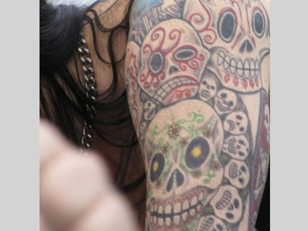 mexican sleeve tattoo 25 Splendid Mexican Skull Tattoo Designs