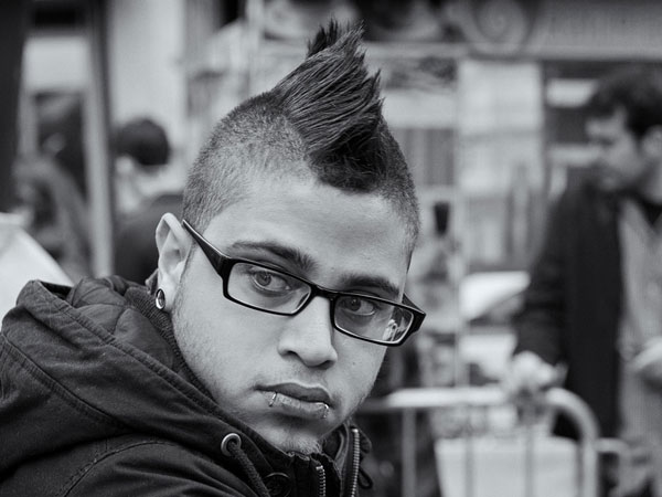 Cool Mohawk Hairstyle