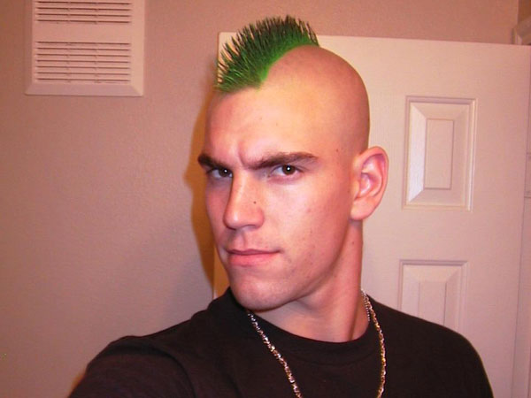 Green Man Mohawk