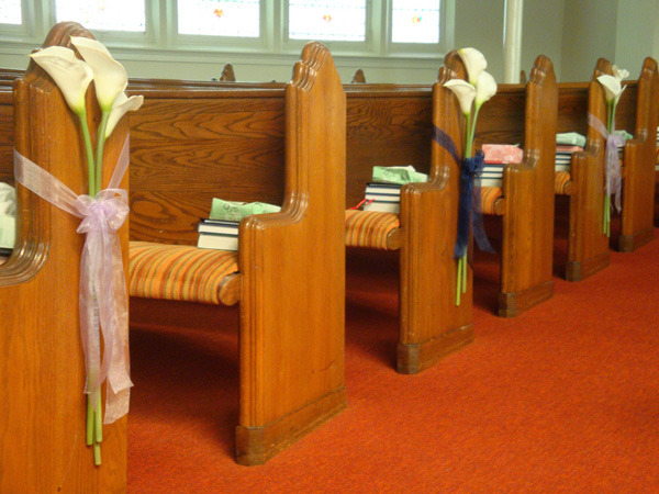 25 attractive pew decorations for weddings sloe