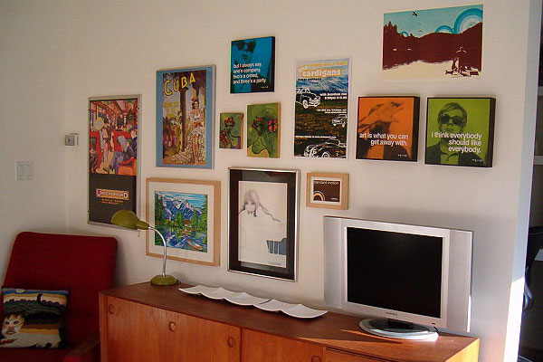 A Variety Of Frames