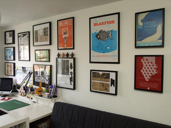Cool Framed Posters. 25 Great Picture Wall Ideas   SloDive