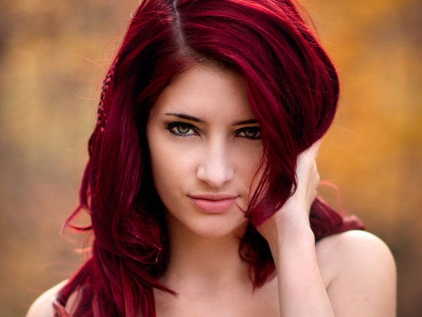 burned wood 25 Mind Blowing Red Hair Color Shades