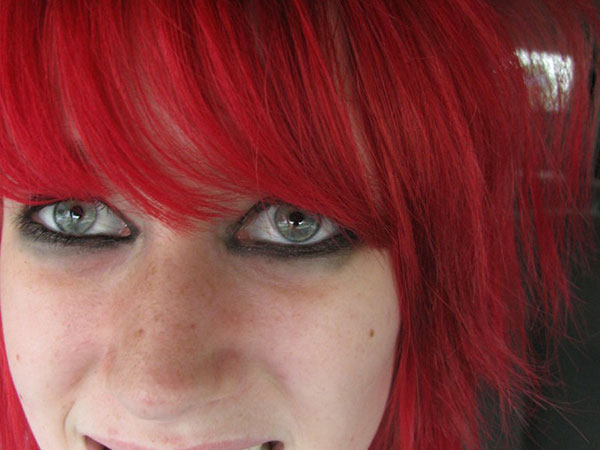 red hair girl 25 Mind Blowing Red Hair Color Shades