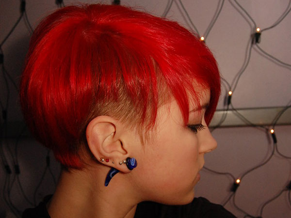 short red hair 25 Mind Blowing Red Hair Color Shades