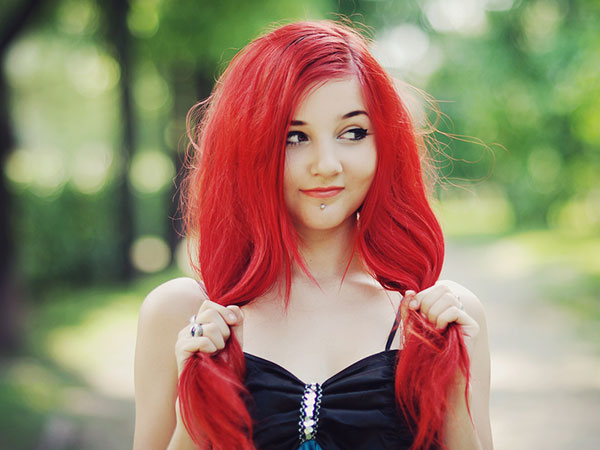 Cutie Red Hairstyle