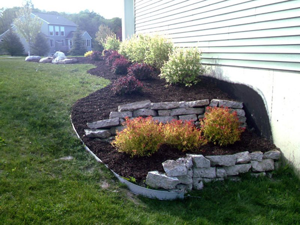 garden design with exciting rock landscaping ideas slodive with landscaping patio ideas from slodivecom - Garden Design Using Rocks