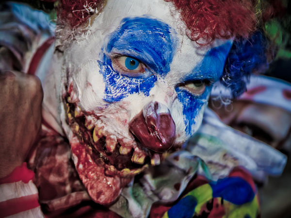 deadly clown 25 Exceptional Scary Clown Pictures