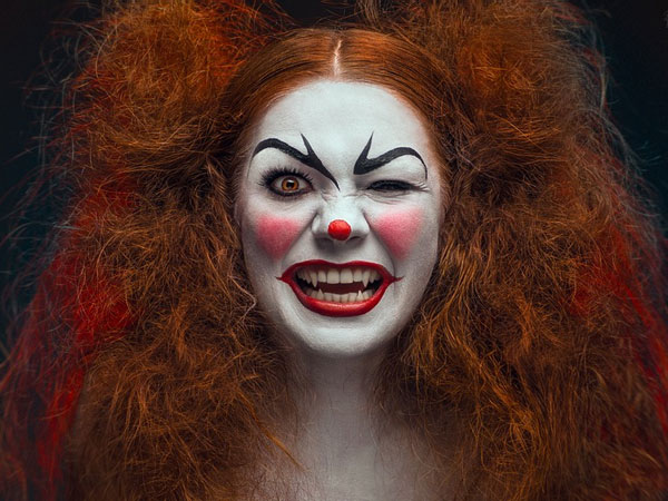 revenge 25 Exceptional Scary Clown Pictures
