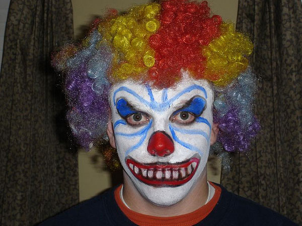 scary bad clown 25 Exceptional Scary Clown Pictures
