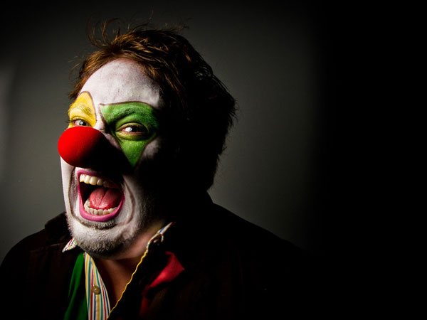 scary clown face 25 Exceptional Scary Clown Pictures