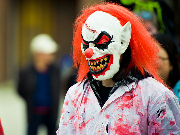 scary clown zombie pic 25 Exceptional Scary Clown Pictures