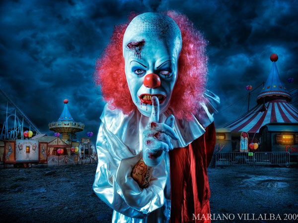the midnight clown show 25 Exceptional Scary Clown Pictures