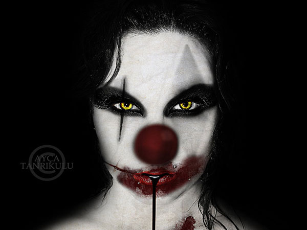 vampire clown 25 Exceptional Scary Clown Pictures