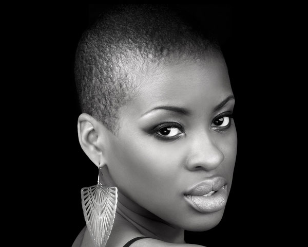 shai 25 Pretty Short Afro Hairstyles