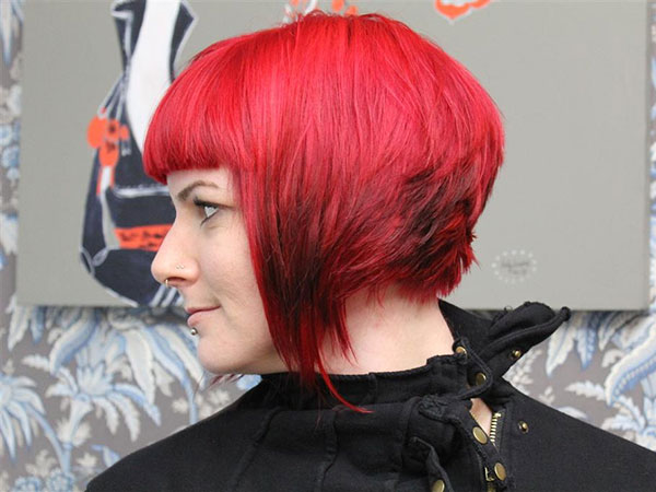 after side 25 Breathtaking Short Red Hairstyles