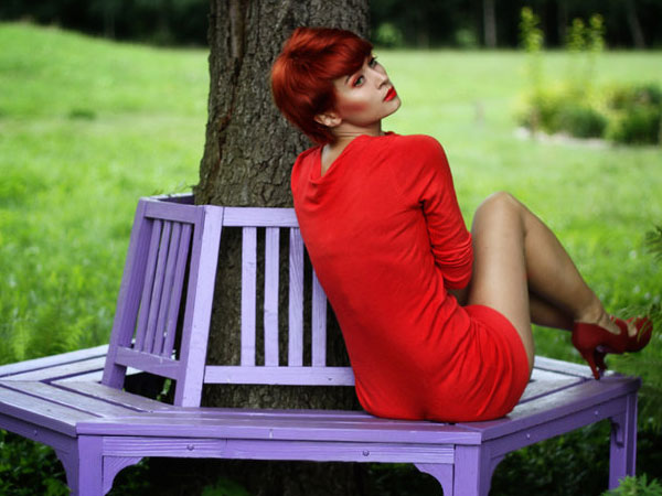 red one 25 Breathtaking Short Red Hairstyles