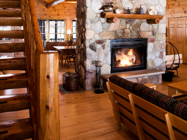 25 Exciting Stone Fireplace Designs - SloDive