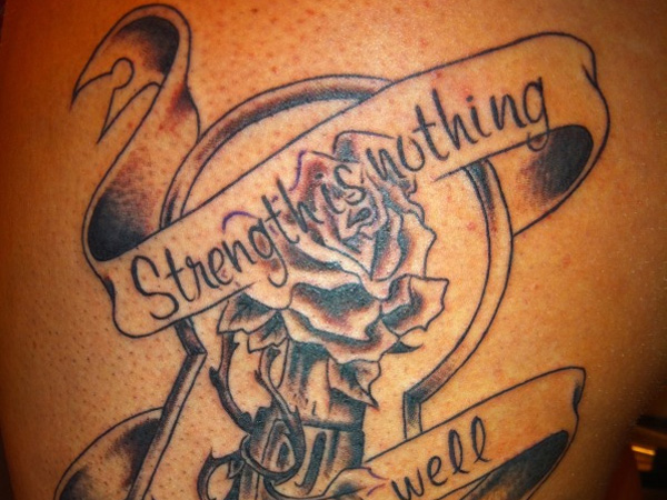 Awesome Strength Tattoos Slodive