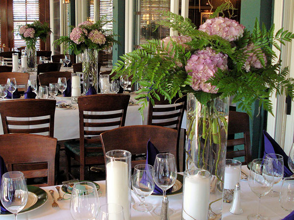 tall hydrangea centerpieces 25 Oustanding Tall Wedding Centerpieces
