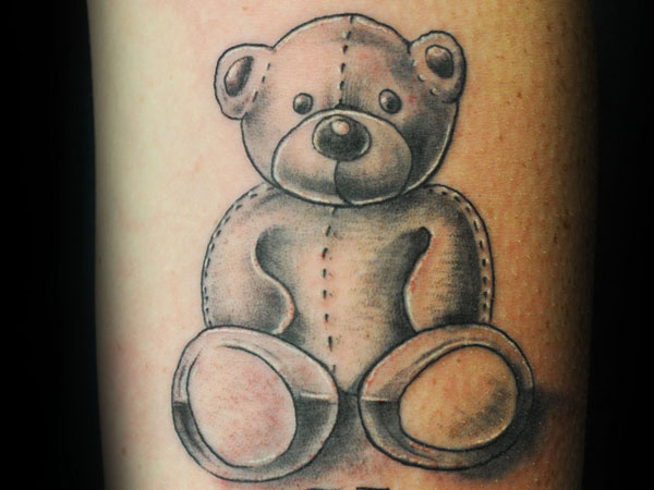 Arm Teddy Tattoo