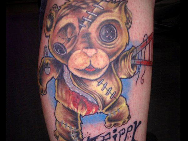 Intense Bear Tattoo