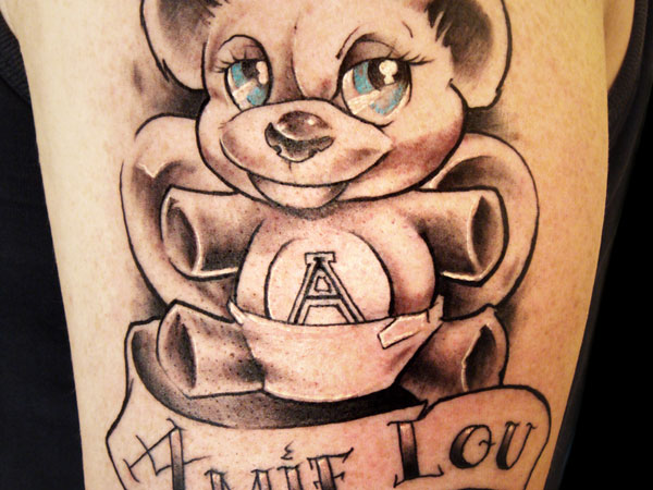 Teddy Bear Favorite Tattoo