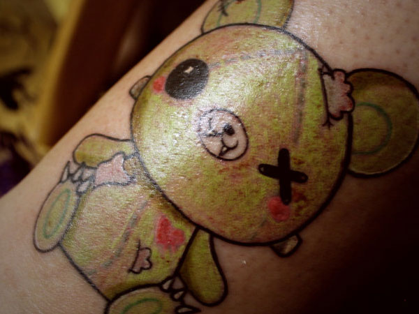 Wounded Teddy Bear