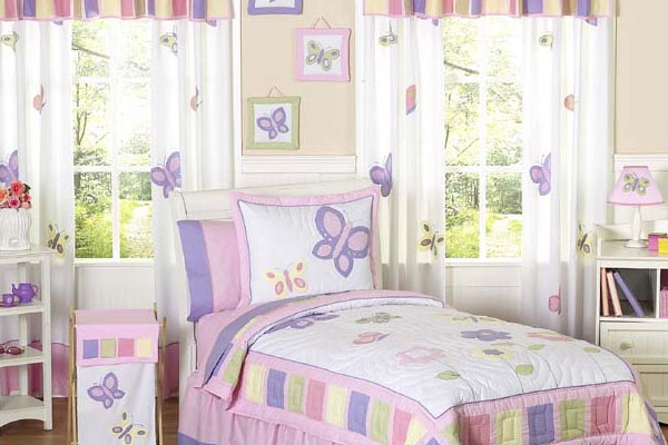 Butterfly Bedroom For Teenage Girl