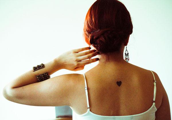 back tattoo 25 Phenomenal Tiny Tattoos