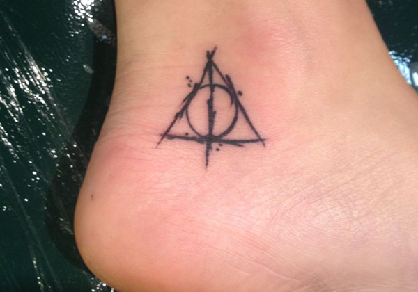 Deathly Hallows Tiny Tattoo