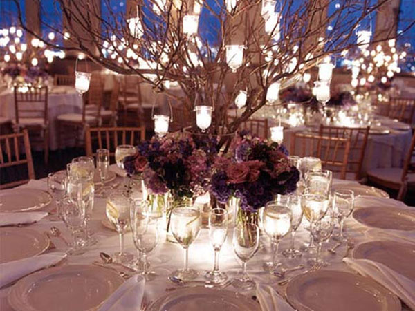 Fall Wedding Reception Table Ideas Photograph | unique fall
