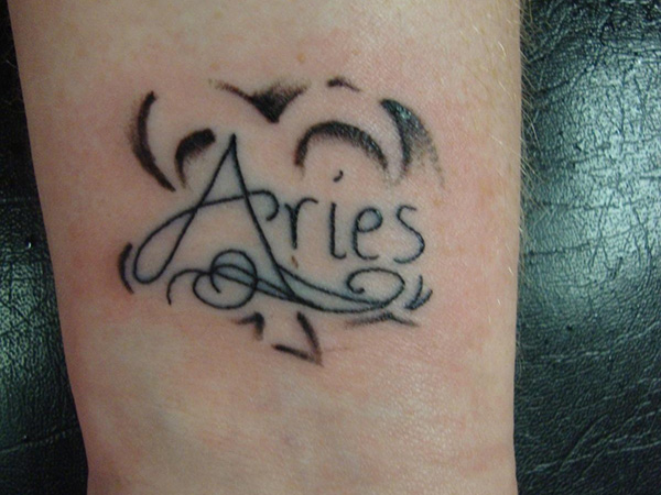 traditional aries tattoo 25 Sweet Aries Tattoos For Women