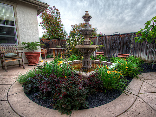Stylish Backyard Garden