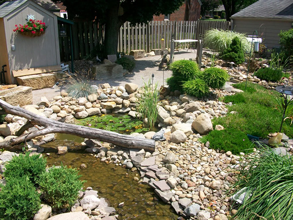 Ordinaire Landscaping Ideas For Backyard With Stone