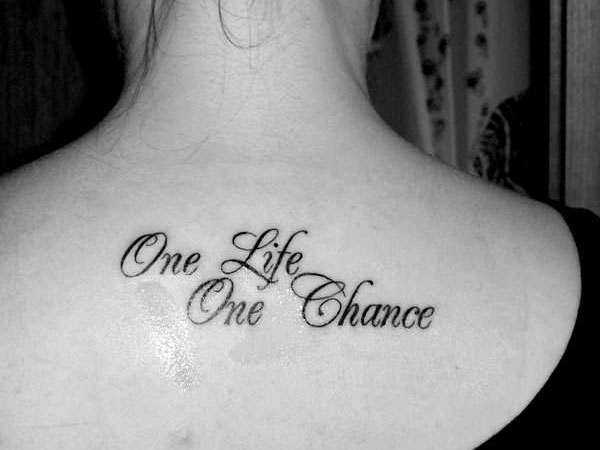 Best Tattoo Quotes About Life Amusing 25 Best Tattoo Quotes You Should Check  Slodive