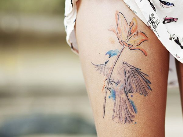 25 Exotic Thigh Tattoos For Women